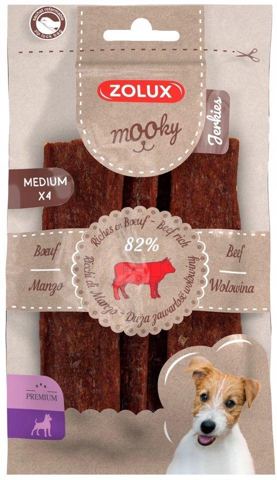 Zolux 482141 MOOKY Jerkies wołowina M x4szt