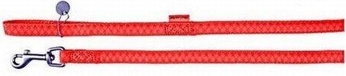 Zolux 522015RO Smycz Mac Leather 15mm/1,2m czerwon