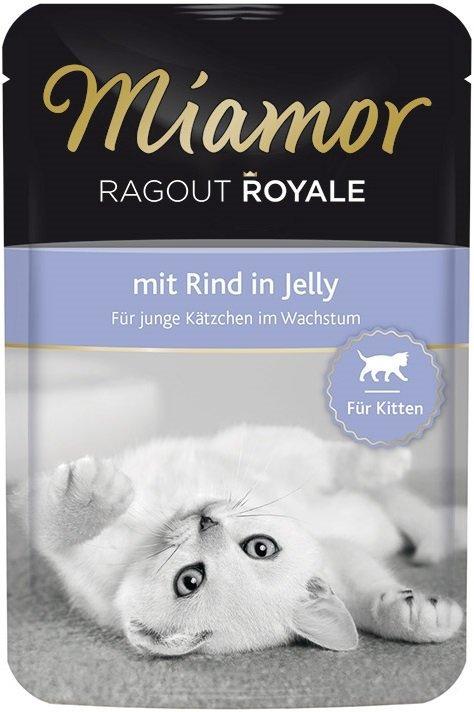 Miamor 74057 Kitten Wołowina saszetka 100gr