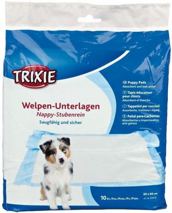 Trixie 23412 Pieluchy dla psa 60x60cm 10szt/op