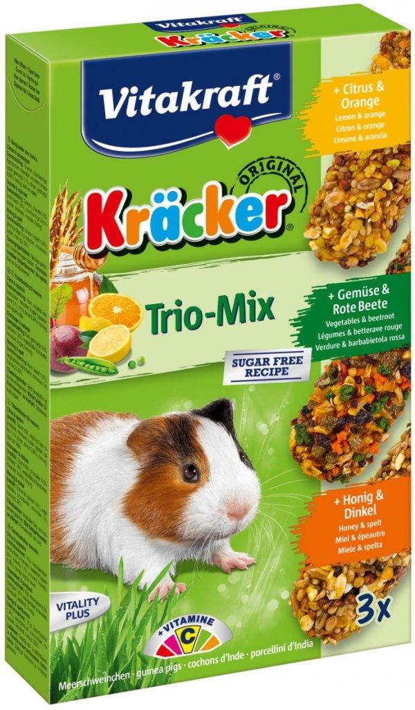 Vitakraft 2265 Kracker 3szt świńka miód,warzy,cyt