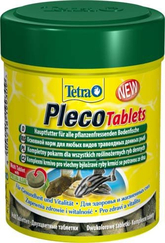 Tetra 199217 Pleco Tablets 120tabl.