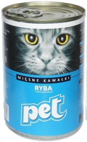 Pet Cat 410g Ryba