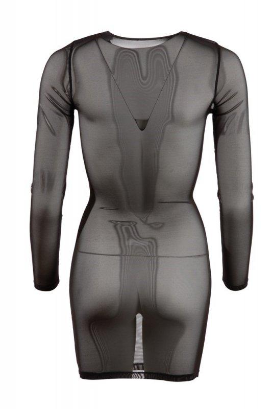 Siateczkowa mini sukienka XL
