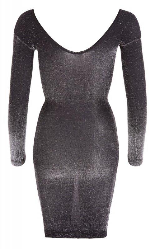 Brokatowa sukienka M/L