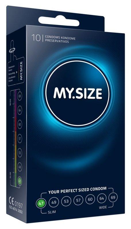 Prezerwatywy 47 mm 10szt. My.Size