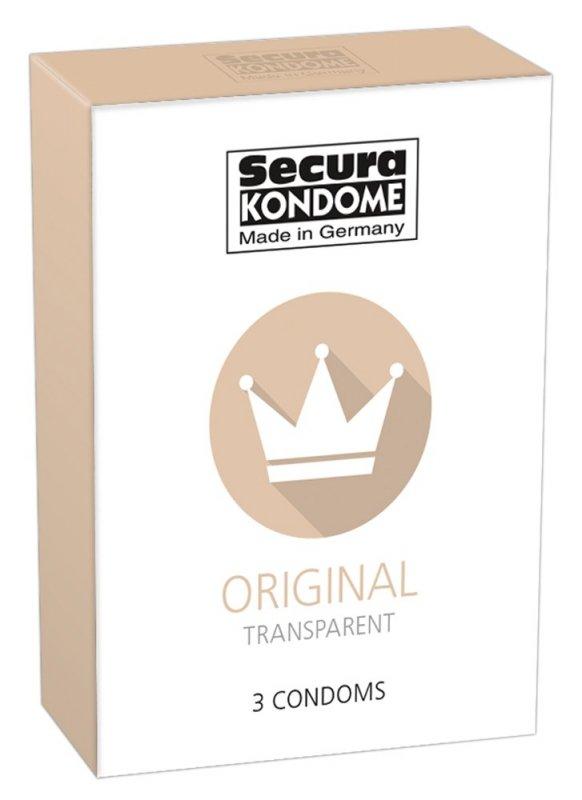 Prezerwatywy Original 3 szt. Secura
