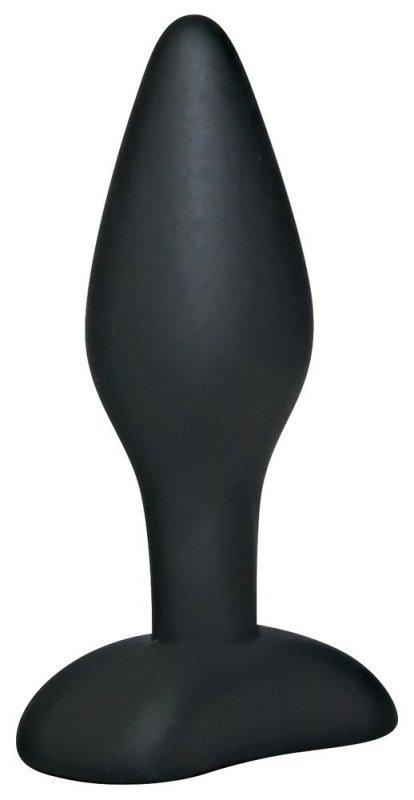 Korek analny silikonowy 9 cm Black Velvets