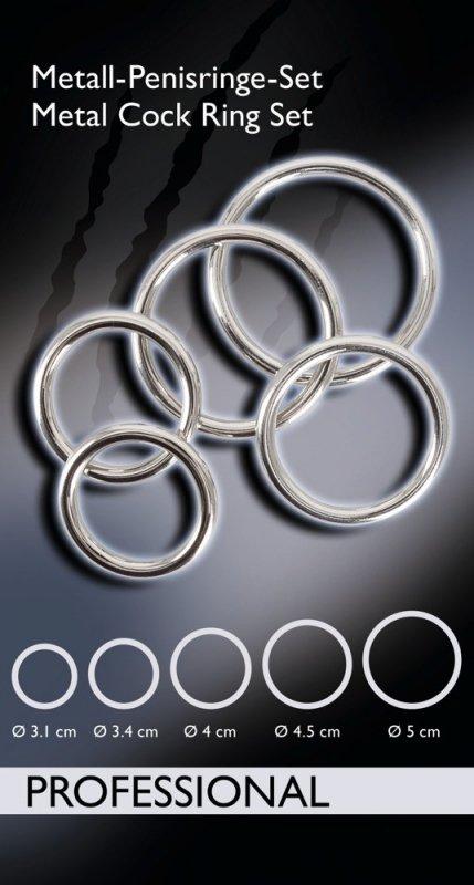 Komplet pierścieni 5 szt.