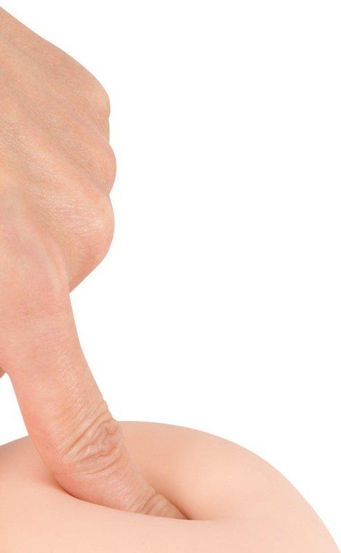 Dildo z przyssawką 17 cm Nature Skin