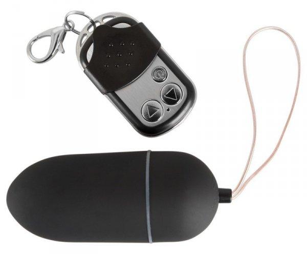Jajko Black & Silky  10 poziomów wibracji