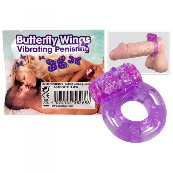 Wibrujący pierścień - Butterfly Wings
