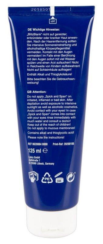 Krem do depilacji - BlitzBlank, 125ml