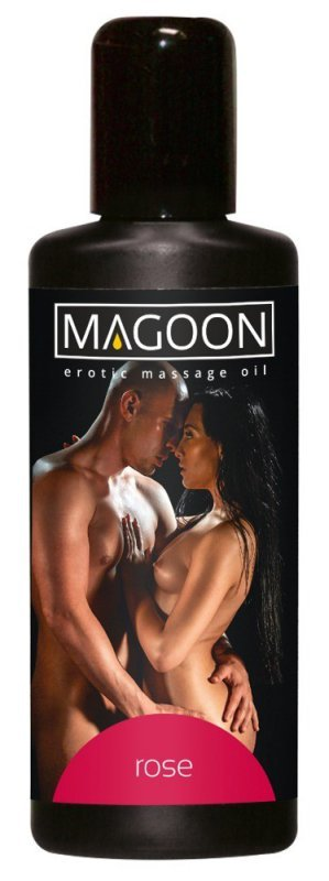 Olejek do masażu Róża 100ml Magoon
