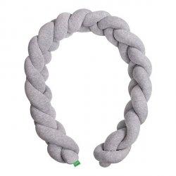 Lulando Ochraniacz- braid welur 300 cm szary