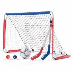 Zestaw sportowy dla dzieci Step 2 Bramka piłkarska hokejowa 3w1