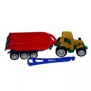 Traktor z rączką