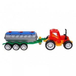 Traktor z beczką