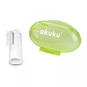 Szczoteczka silikonowa green