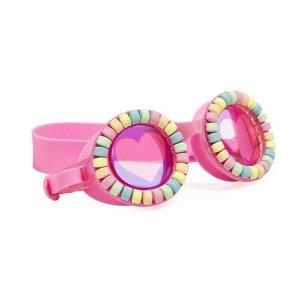 Okulary do pływania, Pudrowe Cukierki, Bling2O