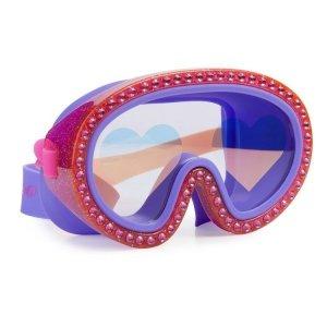 Maska do pływania, Malinowe Serca, Bling2O