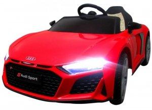 AUDI R8 Sport Czerwony Auto na akumulator EVA Skóra pilot