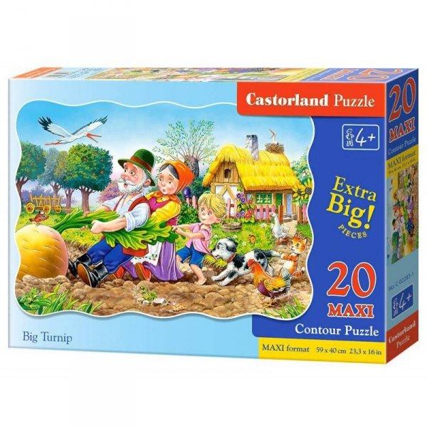 Puzzle 20el.maxi big turnip