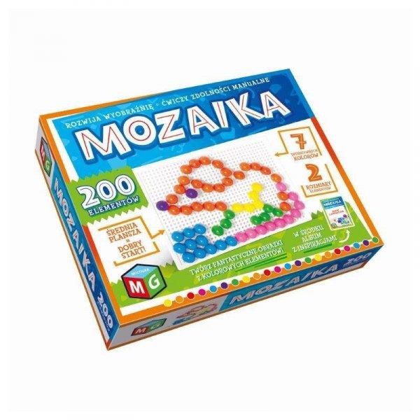 Mozaika 200 elementów