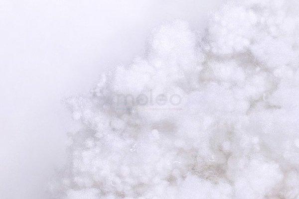 Lulando Poduszka Bomerang białe gwiazdki na szarym