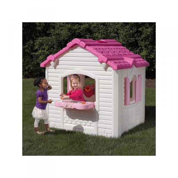 Step2 Domek ogrodowy dla dzieci w serduszka