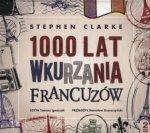 1000 lat wkurzania Francuzów (2 CD mp3) Stephen Clarke
