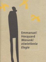 Warunki oświetlenia Elegie Emmanuel Hocquard
