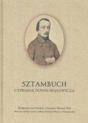 Sztambuch Cypriana Dunin-Wąsowicza Wiktoria Śliwowska