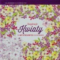 Inspiracje Kwiaty Kolorowanki dla dorosłych