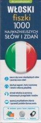 Włoski fiszki 1000 najważniejszych słów i zdań + przegródki + program + nagrania