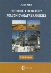 Historia literatury południowoafrykańskiej XVII-XIX wiek