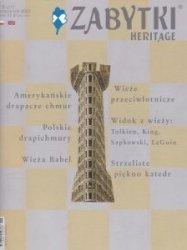 Zabytki Heritage Nr 6 (21) październik 2007
