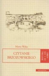 Czytanie Brzozowskiego Marta Wyka