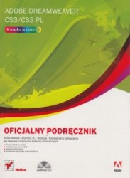 Adobe Dreamweaver CS3/CS3 PL Oficjalny podręcznik + CD