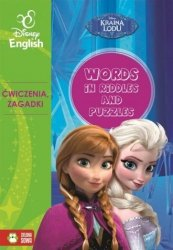 Kraina Lodu Words in riddles and puzzles Disney English