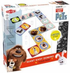 Secret Life of Pets Giant Easy Domino (maxi) Gra planszowa