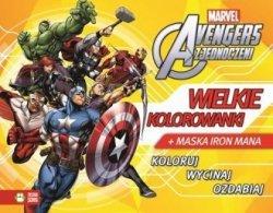 Avengers Wielkie plakaty kolorowanka