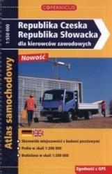 Republika Czeska Republika Słowacka dla kierowców zawodowych Atlas samochodowy Skala 1:550 000