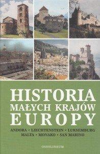 Historia małych krajów Europy red Józef Łaptos