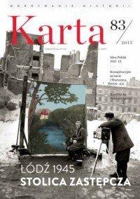 Karta nr 83 Łódź 1945 Stolica zastępcza
