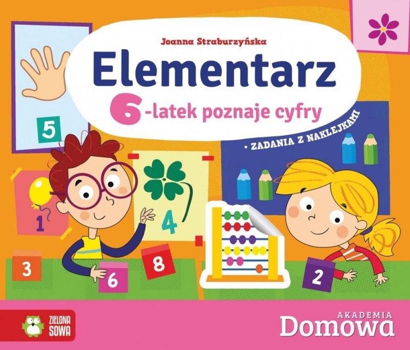 Domowa Akademia Elementarz 6-latek poznaje cyfry