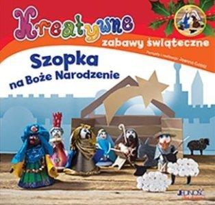 Szopka na Boże Narodzenie Kreatywne zabawy świąteczne + plastelina