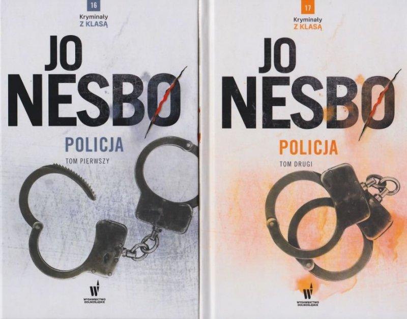 Policja Tom 1 i 2 Kryminał z klasą nr 16 i 17 Jo Nesbø
