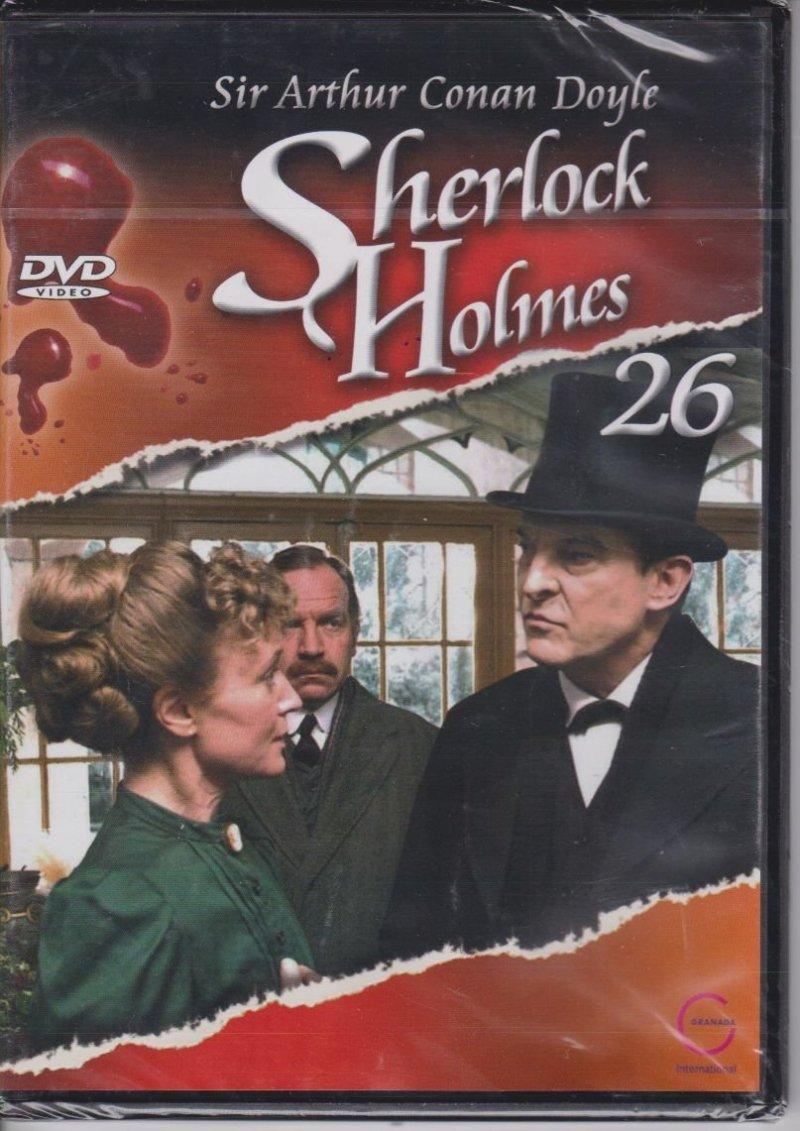 Sherlock Holmes Sir Arthur Conan Doyle cz. 26 Tekturowe pudełko DVD