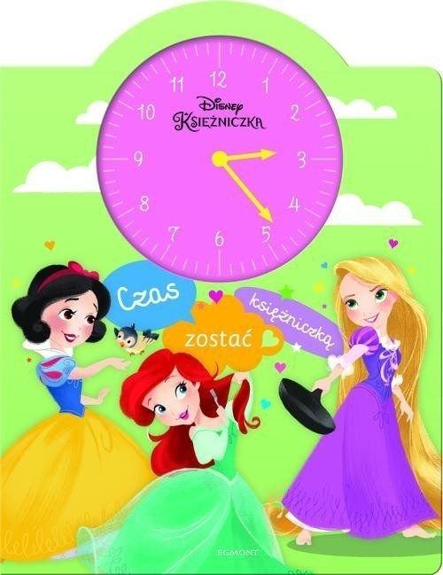 Księżniczka Czas zostać księżniczką Książka z zegarem